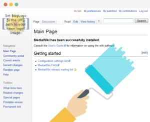 Mediawiki standard skin