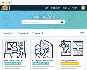 Mediawiki Dokit custom skin bootstrap